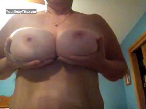 Tit Flash: Very Big Tits By IPhone - Boobies from United States